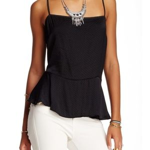 FREE PEOPLE Dobby Printed Tank SIZE S